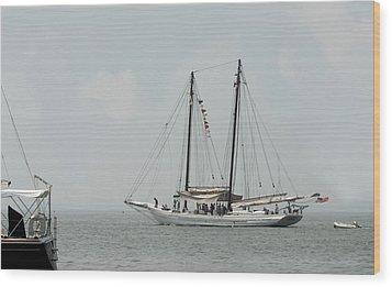 Ship 23 Wood Print by Joyce StJames