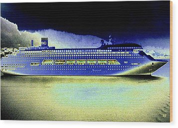 Shipshape 7 Wood Print by Will Borden