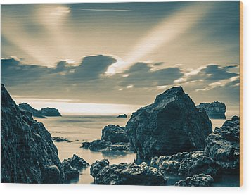 Wood Print featuring the photograph Silver Moment by Thierry Bouriat