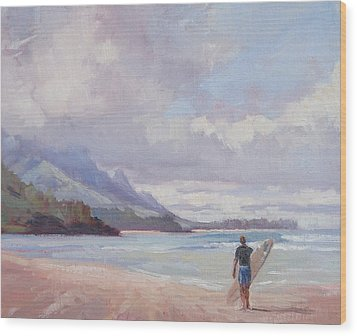 Soul Surfer Wood Print by Jenifer Prince