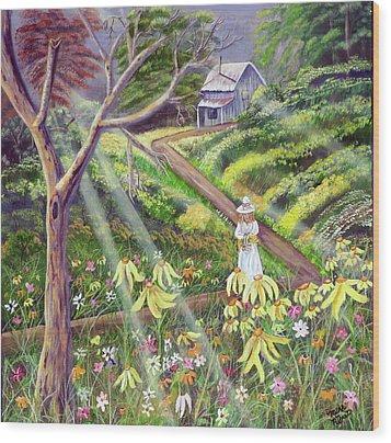 Spring Splendor Wood Print by Mikki Alhart