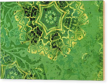 Spring Sprung Wood Print by Bonnie Bruno