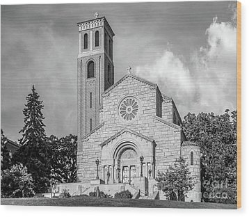 St. Catherine University Our Lady Of Victory Chapel Wood Print by University Icons