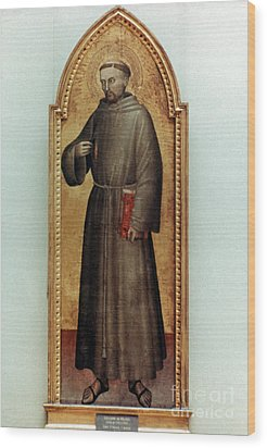 St. Francis Of Assisi Wood Print by Granger