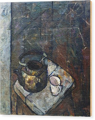 Still Life 4 Wood Print by Valeriy Mavlo