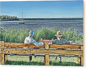 Summer Memories Wood Print by Patricia L Davidson