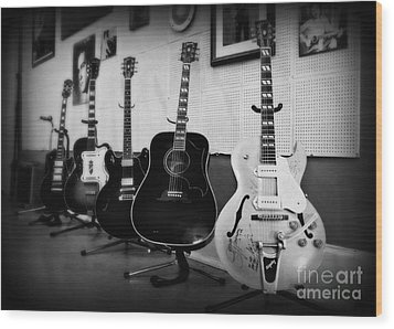 Sun Studio Classics 2 Wood Print by Perry Webster