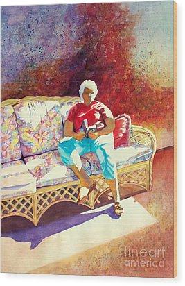 Sunny Retreat 3 Wood Print by Kathy Braud