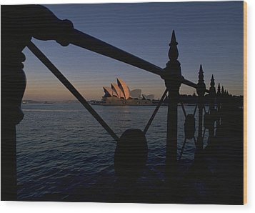 Wood Print featuring the photograph Sydney Opera House by Travel Pics