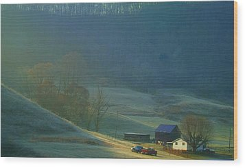 Tennessee Morning.. Wood Print by Al  Swasey