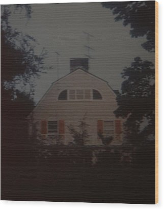 The Amityville Horror Wood Print by Rob Hans