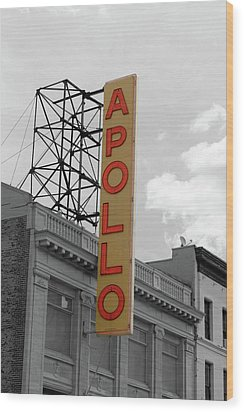 The Apollo In Harlem Wood Print by Danny Thomas