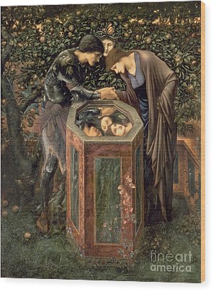 The Baleful Head Wood Print by Sir Edward Burne-Jones