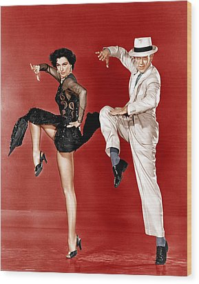 The Band Wagon, From Left Cyd Charisse Wood Print by Everett