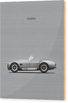 The Cobra Wood Print by Mark Rogan