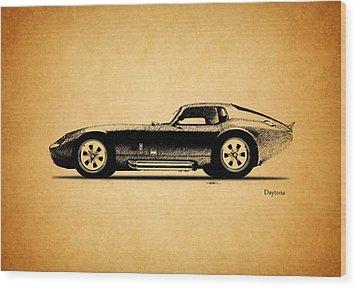 The Daytona 1965 Wood Print by Mark Rogan