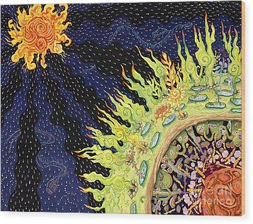 The Deep Wood Print by Shoshanah Dubiner