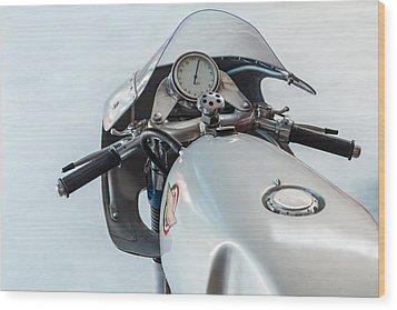 The Ducati Wood Print by Martin Bergsma