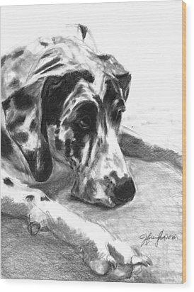 The Duke Wood Print by J Ferwerda