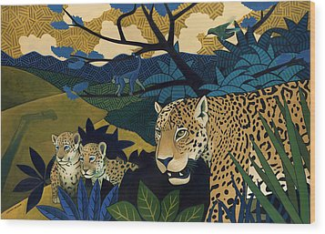 The Edge Of Paradise Wood Print by Nathan Miller