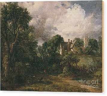 The Glebe Farm Wood Print by John Constable