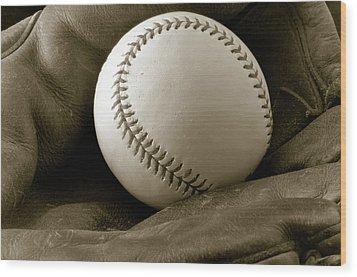 The Glove Wood Print by Shawn Wood