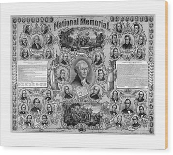 The Great National Memorial Wood Print by War Is Hell Store