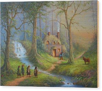 The House Of Tom Bombadil.  Wood Print by Joe  Gilronan
