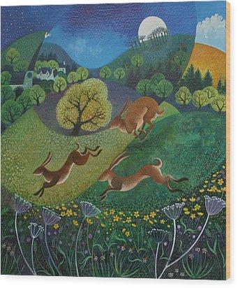 The Joy Of Spring Wood Print by Lisa Graa Jensen