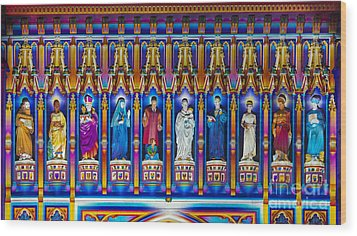 The Light Of The Spirit Westminster Abbey Wood Print by Tim Gainey