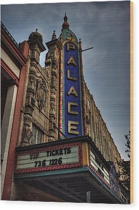 The Louisville Palace 001 Wood Print by Lance Vaughn