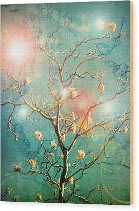 The Memory Of Dreams Wood Print by Tara Turner
