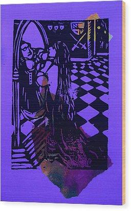 The Mirror Room IIi Wood Print by Adam Kissel