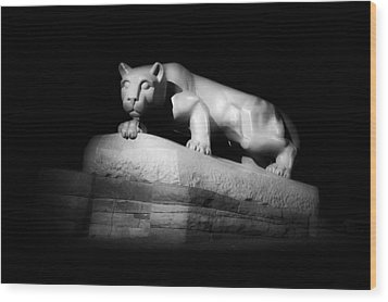 The Nittany Lion Of P S U Wood Print by Pixabay