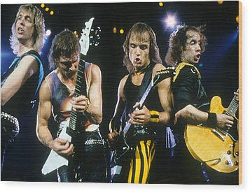 The Scorpions Wood Print by Rich Fuscia