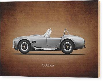 The Shelby Cobra Wood Print by Mark Rogan