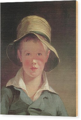 The Torn Hat Wood Print by Thomas Sully