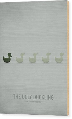 The Ugly Duckling Wood Print by Christian Jackson