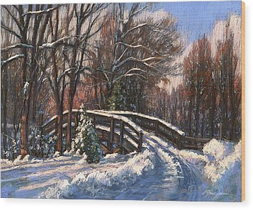 The Way Home Wood Print by L Diane Johnson