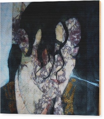 The Way You Make Me Feel Wood Print by Paul Lovering