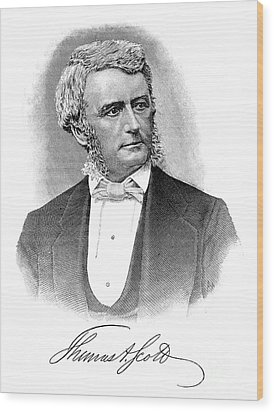 Thomas Scott (1823-1881) Wood Print by Granger