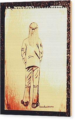 Tom Boy Wood Print by Sheri Buchheit