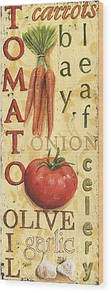 Tomato Soup Wood Print by Debbie DeWitt