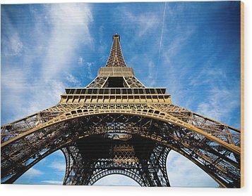 Torre Eiffel - Tour Eiffel - Eiffel Tower Wood Print by Ruy Barbosa Pinto
