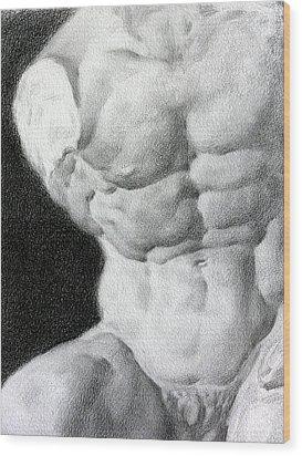 Torso 1a Wood Print by Valeriy Mavlo