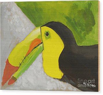 Toucan Wood Print by Katie OBrien - Printscapes