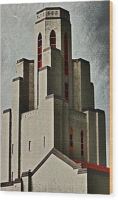 Tower Of Memories Wood Print by Kevin Munro