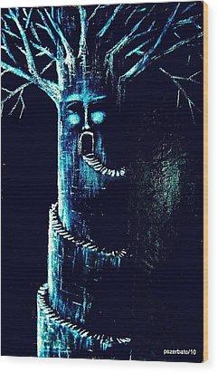 Tower Wood Print by Paulo Zerbato