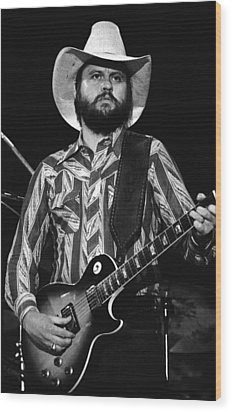 Toy Caldwell Live Wood Print by Ben Upham