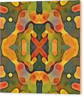 Treasure Wood Print by Amy Vangsgard